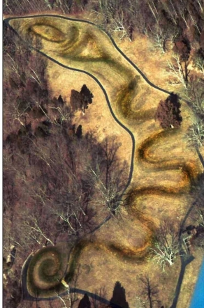 serpent mound aerial