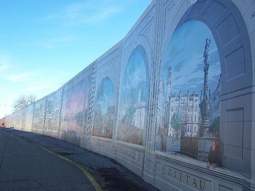 flood wall murals