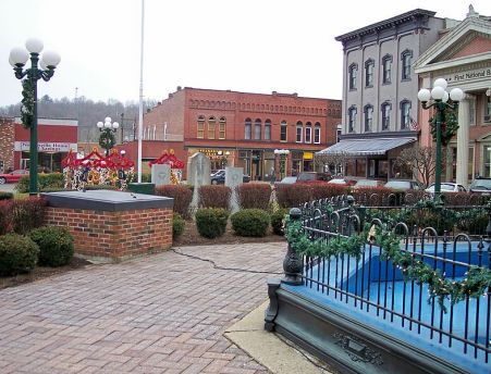 Nelsonville public square Tim Kiser