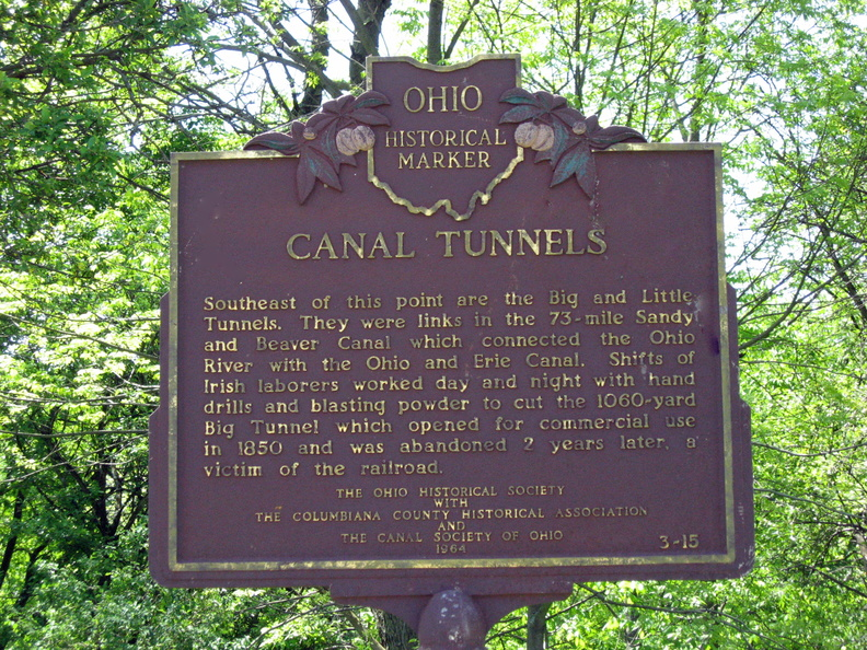 canal marker irish remarkable ohio - Copy